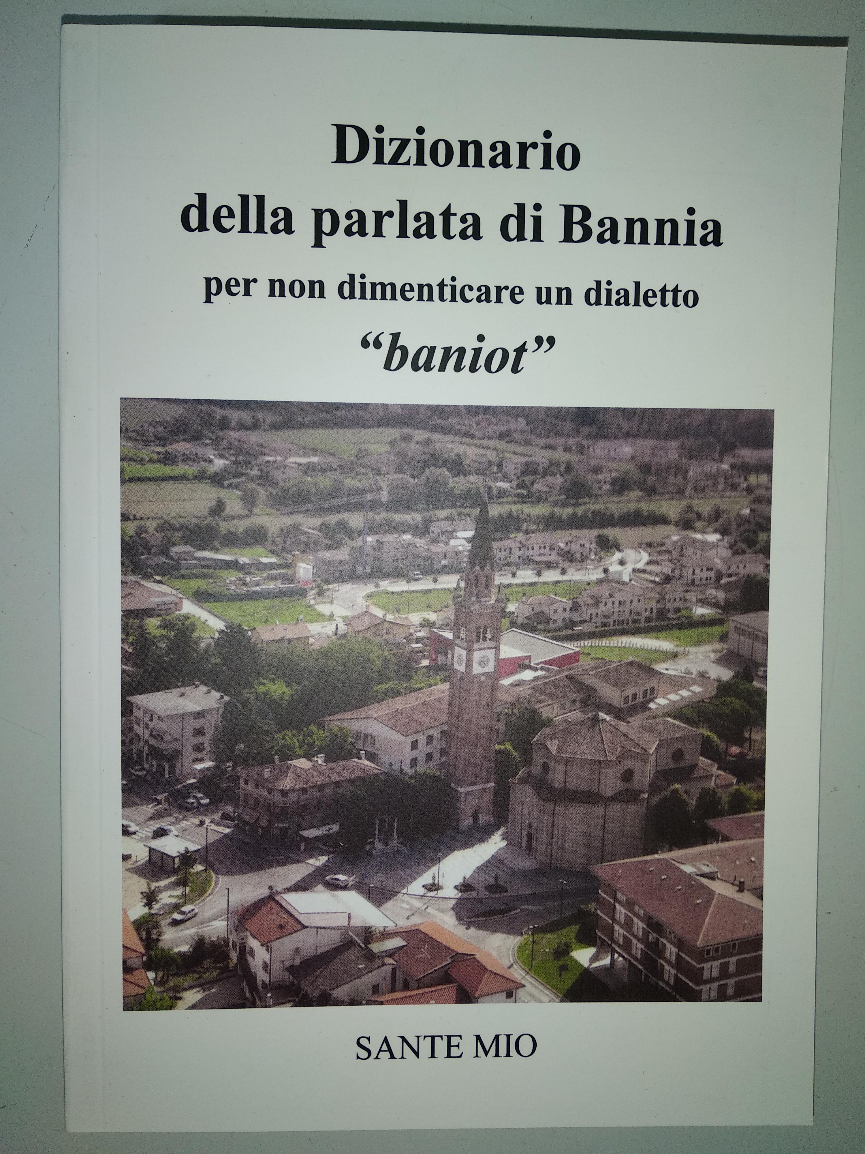 Dizionario della parlata di Bannia